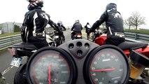 Ducati 600 Monster Circuit du Val de Vienne le Vigeant 15.02.2015