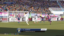 FC Barcelona vs Real Madrid - La Liga - Highlights and Goals - PES 15 - Round of 22 March