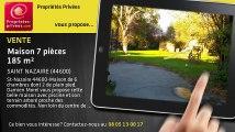 A vendre - maison - SAINT NAZAIRE (44600) - 7 pièces - 185m²