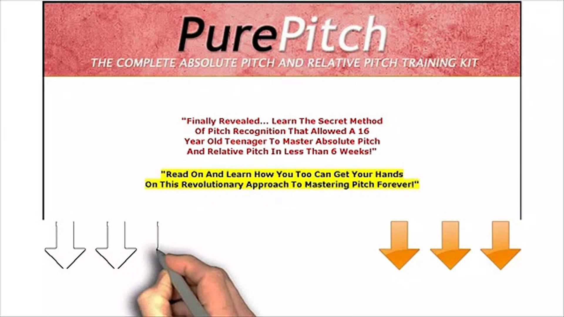 Pure Pitch Method - Perfect Pitch Ear Training - video dailymotion
