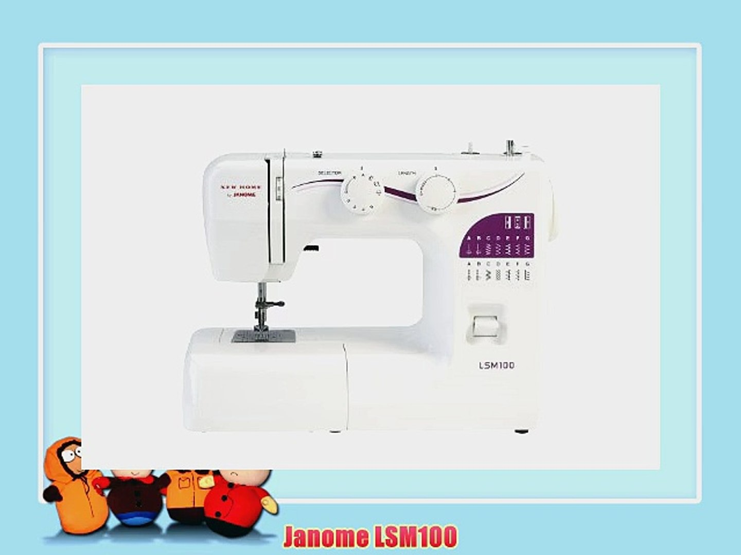 Janome Lsm100 Video Dailymotion
