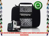 Protect your Gopro investment! NEW! Premium Extreme Weather Proof Black POV travel and carry