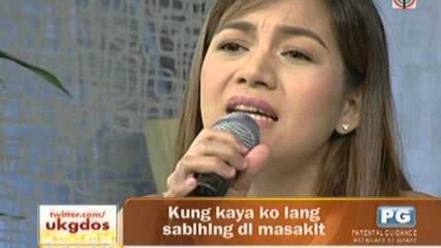 """Kyla sings """"Dito Na Lang"""" on UKG"""