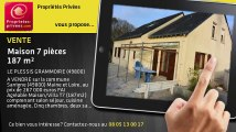 A vendre - maison - LE PLESSIS GRAMMOIRE (49800) - 7 pièces - 187m²