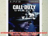 ACTIVISION BLIZZARD INC Call of Duty: Ghosts First Person Shooter - Blu-ray Disc - PlayStation