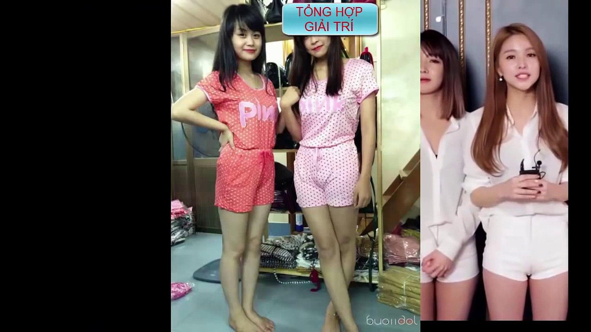 Gái xinh lộ hàng - Nhóm nhạc nữ xinh đẹp Hàn Quốc lộ fan mu cực múp khi nhảy - Lộ Hàng
