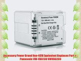 PANASONIC VW-VBG130 / VWVBG260 Li Ion Battery HDC-HS / HDC-SD / HDC-SX / HDC-TM SERIES and