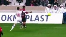 Lyon/Nice : Jordan Amavi fait le grand saut en tribune pour ne pas tomber dans un trou
