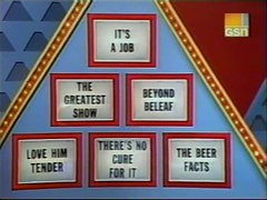 The 25 000 Pyramid CBS Daytime 1983 Dick Clark Episode 4