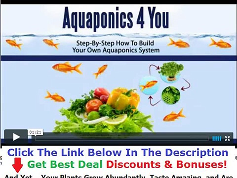 Aquaponics 4 You Free Discount + Bouns