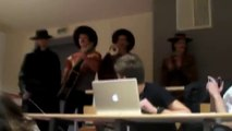 Zorro fights bad guy during  biology class : hilarious prank