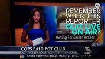 'F*ck It, I Quit' Reporter's Pot Club Got Raided