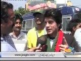 Zardari, Shahbaz Sharif, Altaf Hussain and Imran Khan duplicates on Pakistan Day in Lahore