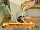 Mantenga sus cafeteras limpias con productos hechos en casa