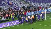 Communion entre supporters et joueurs après TFC/Bordeaux