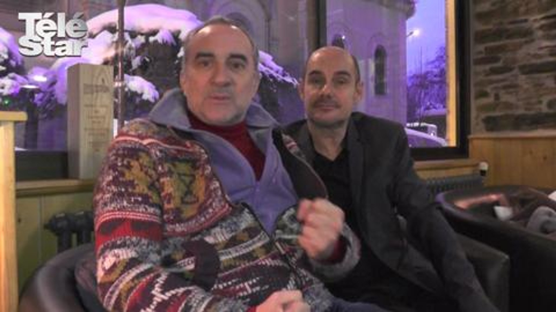 La Boule Noire : Bernard Campan et Antoine Duléry répondent à Télé Star