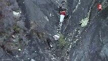 Crash dans les Alpes : les nouvelles images de la zone de l'accident