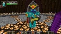 WALKER KING VS ENDER TITAN & MUTANT OBSIDIAN GOLEM - Minecraft Mob Battles - Better Dungeons Mods