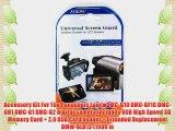 Accessory Kit For The Panasonic Lumix DMC-G10 DMC-GF1C DMC-GH1 DMC-G1 DMC-G2 Digital Camera