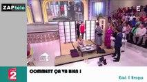 """Zapping Télé du 24 mars 2015 - Découvrez """"la petite voix"""" de François Hollande !"""