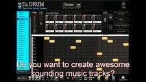 Dr Drum Beat Maker Software - Making Dubstep Beats