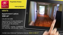 A vendre - appartement - CALAIS (62100) - 5 pièces - 104m²