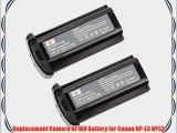 DSTE 2 x NP-E3 NPE3 Ni-MH Battery for Canon EOS 1D EOS 1D MarkII EOS 1D MarkII N EOS 1DS EOS