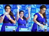 Beautiful Hot Lady Madhuri Dixit Spotted @ Oral-B Pro-Health ToothPaste Launched
