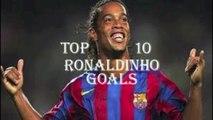 Ronaldinho Top 10 Goals- Ronaldinho Highlights