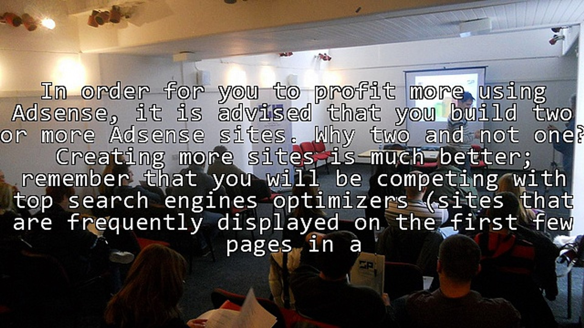 What To Consider And Methods In Building Your Own Adsense Sites Starting Now!