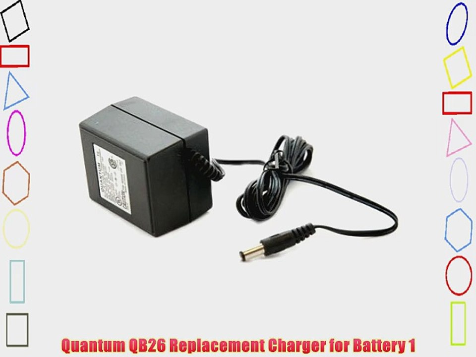 Quantum Replacement Charger 100-240v for the Turbo C Compact Battery.