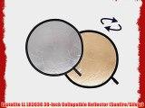 Lastolite LL LR3036 30-Inch Collapsible Reflector (Sunfire/Silver)