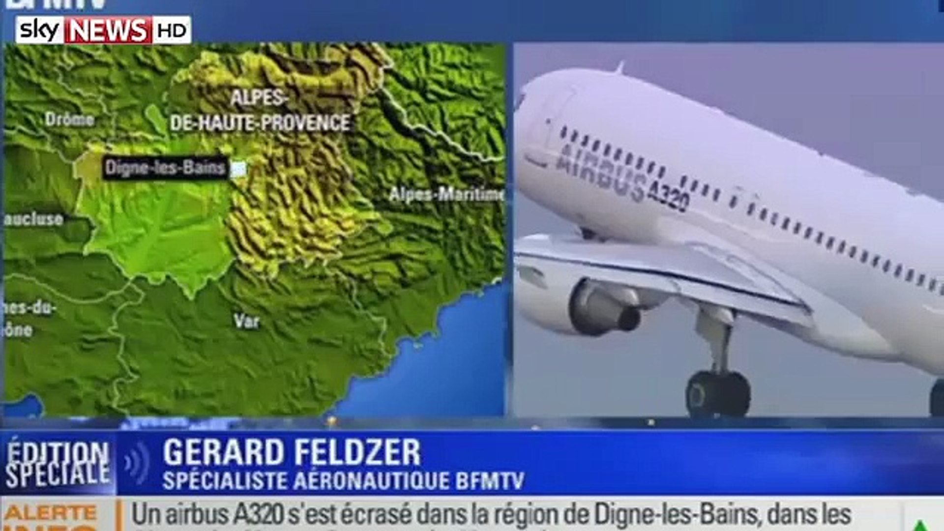 Breaking News: Passenger Plane Crashes In Southern France