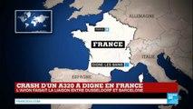 Crash d'un Airbus A320  dans les Alpes