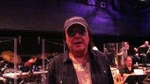 Rudy Pérez en los ensayos del Hard Rock Rising Festival 2015