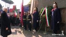 Omaggio di Mattarella alle Fosse Ardeatine, 71 anni fa la strage