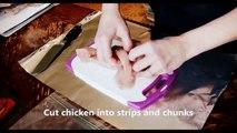 Food Recipe chicken wings  Baked Boneless Honey BBQ Wings !!