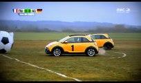 CarFootball : match de Football pour voiture dans Top Gear France !