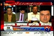 GEO Capital Talk Hamid Mir with MQM Senator Farogh Naseem (24 March 2015)