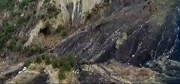 Debris Site German Wings Airbus Aerial Pictures Debris #GermanWings Airbus A320 #germanwings