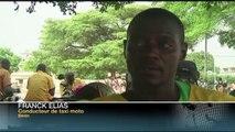 AFRICA NEWS ROOM du 24/03/15 - Bénin -  Dans l'univers des taxis moto - partie 2