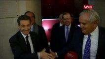 Nicolas Sarkozy au groupe UMP du Sénat : « C'est un rassemblement souhaité par tous », commente Jean-Pierre Raffarin