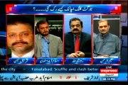 EXPRESS Takrar Imran Khan with MQM Asif Hasnain (24 March 2015)