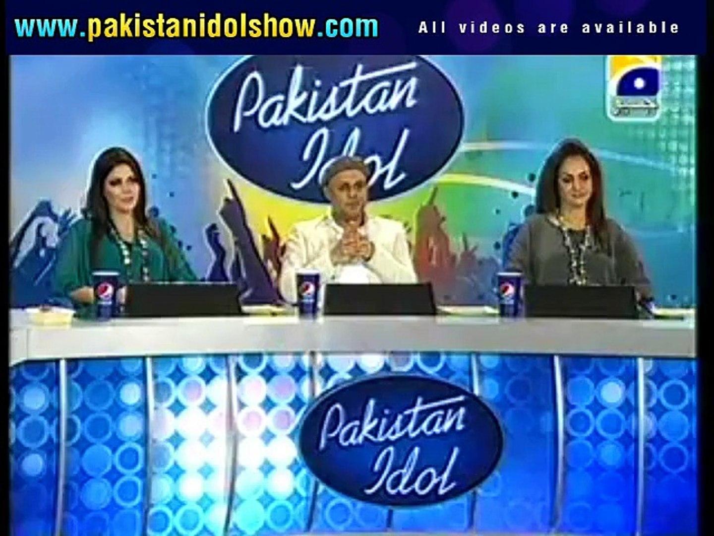 Pakistan Idol audition - Roshan (Pakistan Idol Song)