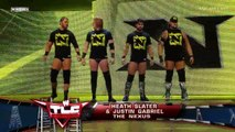 NEXUS (Heath Slater & Justin Gabriel) vs Santino Marella & Vladimir Kozlov, WWE TLC 2010