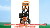 Generac 6596 2800 PSI 2.5 GPM 196cc OHV Gas Powered Residential Pressure Washer