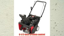 Yard Machines 31A-2M1E700 21-Inch 123cc OHV 4-Cycle Gas Powered Single Stage Snow Thrower