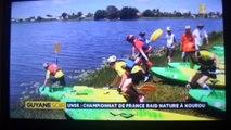 Championnat de France raid nature UNSS 2015 / Kourou ( GUYANE )
