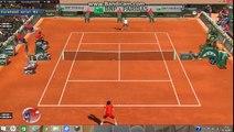 Roland Garros Roger Federer v Ernests Gulbis Tennis Elbow 2014 (Sam's Patch)