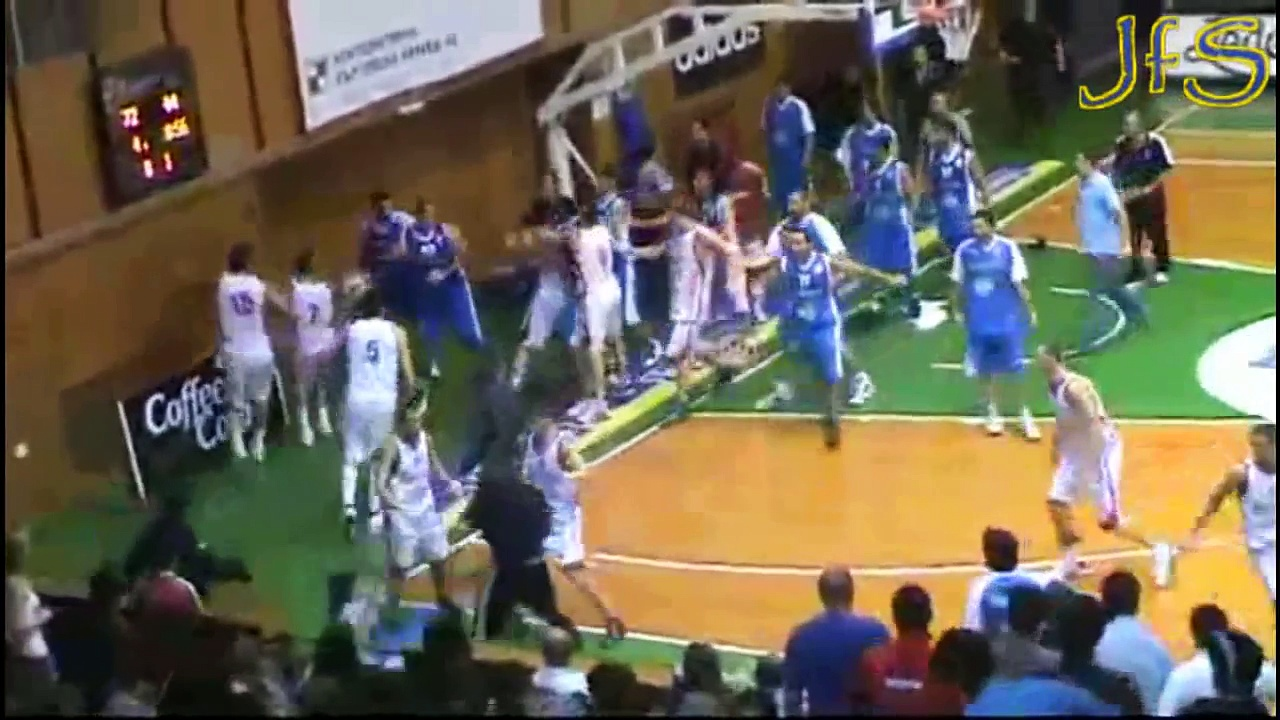 Worst Basketball Fights Ever |HD|
